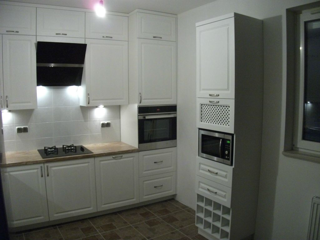 meble kuchnne klasyczne realizacje